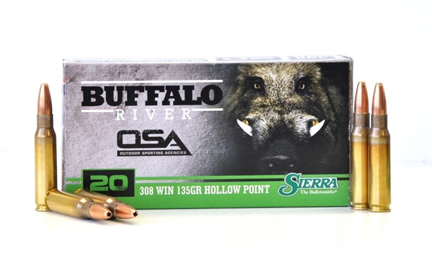 Outdoor Sporting Agencies, Products, Ammunition, Centrefire